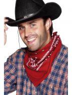 Cowboy Bandana, Red
