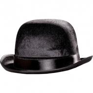 Black Deluxe Bowler Hat