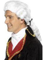 Court Wig,White