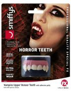 Horror Teeth, Vampire, with Upper Veneer Teeth
