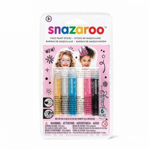 Snazaroo sticks (pack of 6)