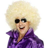 Mega Huge Afro Wig - Blonde