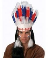 Chief Indain Headdress - Native American