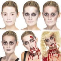 Zombie Make Up Set With Blood Capsules