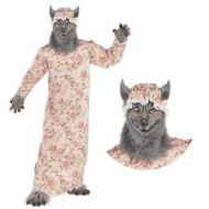 Grandma Wolf - Child Costume