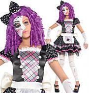 Damaged Doll - Child Costume