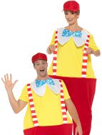 Adult's Jolly Storybook Costume ( Tweedle Dee or Tweedle Dumb)
