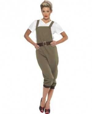 Land Girl Costume 1940 WW2