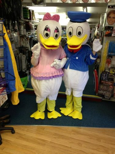 Donald and Daisy mascot for hire