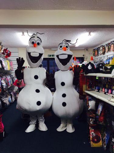 Snowman mascot for hire