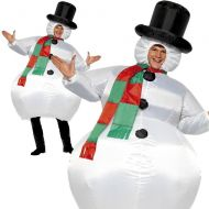 Inflatable Snowman Costume