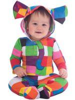 Elmer the Patchwork Elephant - Baby Costume