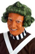 Green Chocolate Factory Worker Wig (Oompa Loompa)