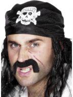 Pirate Bandana, with Skull & Crossbones