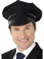 Chauffeur Hat Black Taxi Driver Limo