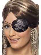 Pirates Eyepatch with Diamante Motif
