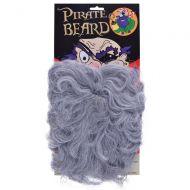 Bristol Novelty Pirate beard. Wavy Grey