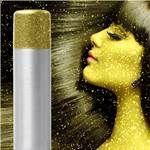 Gold Glitter hair and body spray