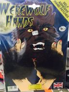 Werewolf Hand Hair Patches, Brown