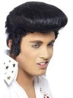 Elvis Deluxe Wig,Black