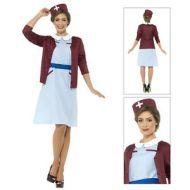 Vintage Nurse Costume 1940 WW2