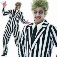BLACK AND WHITE SUIT (BEETLEJUICE)